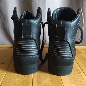 Givenchy Shoes - Givenchy Tyson Hi Top Black Sneakers 46 Never Worn